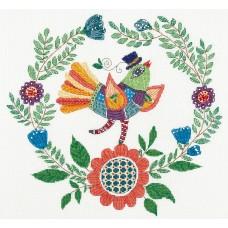 Набор для вышивания Panna ПТ-1954 Певец