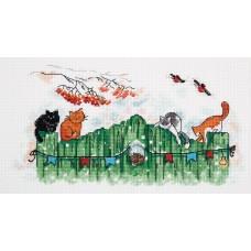 Набор для вышивания Panna ВК-7001 Любопытные хвосты