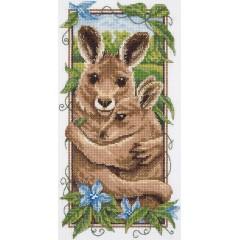 Набор для вышивания Panna Ж-1971 Рыжие кенгуру
