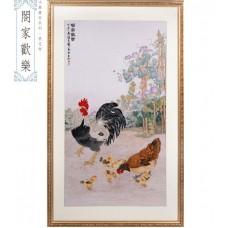 """Набор для вышивания крестом XIU CRAFTS 2800105 """"Куриное семейство"""""""