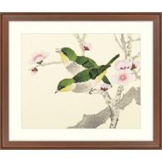 """Набор для вышивания крестом XIU CRAFTS 2800140 """"Птицы на ветвях"""""""