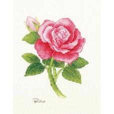 """Набор для вышивания крестом XIU CRAFTS 2801701 """"Роза"""""""