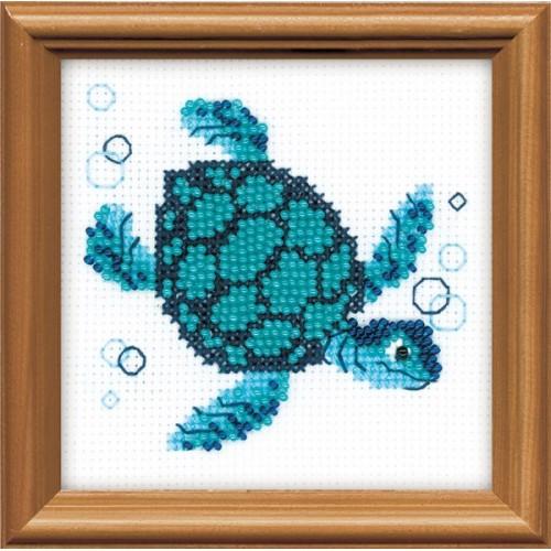 Вышивка морская черепаха